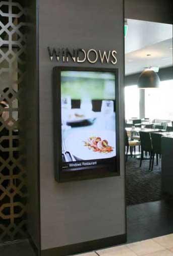 Hotel Luxury Digital Sign