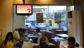In Restaurant Displays