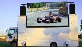 Mobile Advertising LED Display