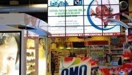 Supermarket Video Wall