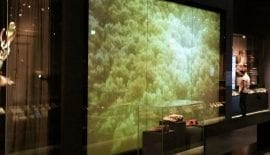 Video Wall Multi-display in Museum