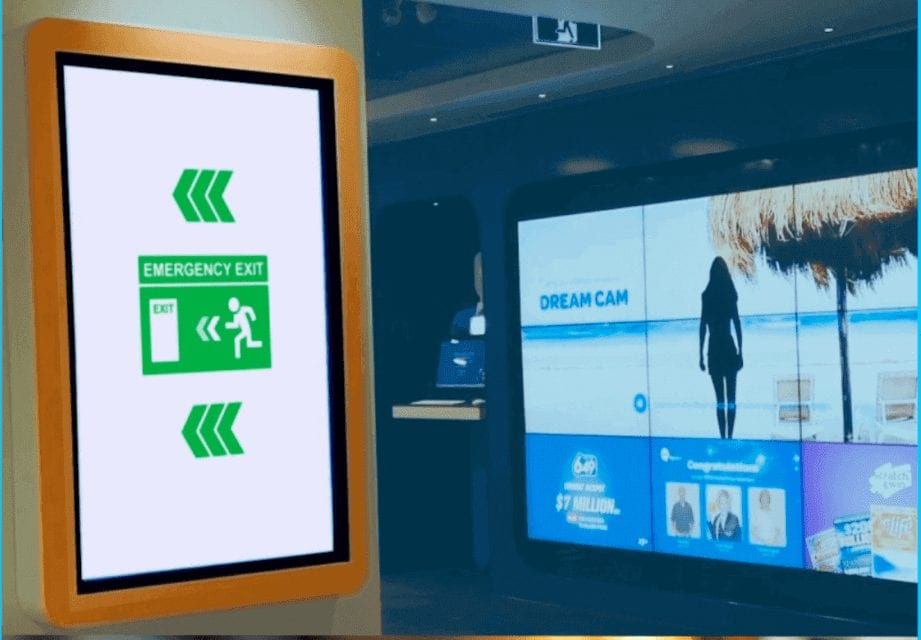 alert-display-shopping-center- CAP-IPAWS System